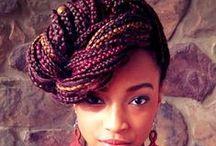 Tressage africain style!