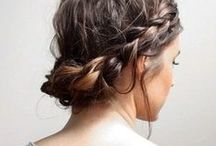 ♥ sporty hairstyles / secure your hair & stay focused on your goals
