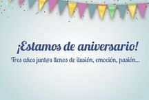Talleres Aniversario Caype / Celebra nuestro tercer aniversario con nosotros y apuntate a novedosos talleres repatidos por toda la ciudad, te esperamos!