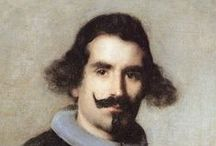 Spanish Painters / Spain has produced many famous artists including Velázquez, Goya and Picasso, as well as those from elsewhere such as El Greco (the Greek - Doménikos Theotokópoulos). Spanish art was particularly influenced by Italy and France during the Baroque and Neoclassical periods, but has often had very distinctive characteristics partly explained by its Moorish heritage, and through its political and cultural climate during the Counter-Reformation and subsequent Bourbon dynasty
