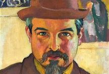 Maurice Denis - Les Nabis / Maurice Denis (1870-1943)[1] was a member of Les Nabis, a group of Post-Impressionist avant-garde artists who set the pace for fine arts in France in the 1890s (Nabi - Hebrew for Prophet). Their theories contributed to the foundations of cubism, fauvism and abstract art. He later focussed on religious subjects and after World War I became part of a movement to reconcile the church with modern civilization. The group created art for churches, particularly those devastated by the war