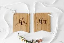 Wedding Decor / Hanging jars, confetti balloons, tassel garland, wedding coasters, bride and groom chair sign, Mr and Mrs chair sign, cotton ribbon, centrepiece