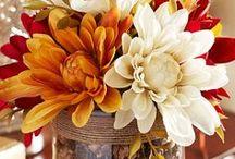 Bytové dekorácie - jeseň