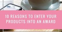 Beauty Brand Awards / What better way to get recognition for your amazing beauty brand and products then entering a prestigious award. In this board I am collating all the beauty industry awards I am aware of.
