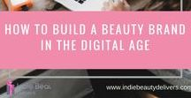 Marketing tips for Indie Beauty Brands / This board is designed to help you stay on top of the best ways to market your indie beauty brand. Keep up to date with all the latest trends and how you can use them to drive your business forward.
