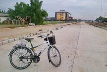 Biking at Jakarta