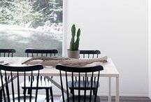living+dining spaces ∆ / by T.Madison Shop