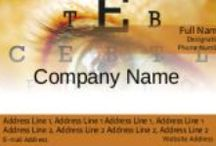 Eye clinic visiting cards online design / The eye clinic with facilities in eye check, and or spectacles for sale, need Business cards.