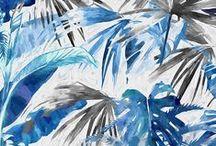 Textile/Print Design Inspiration / Textile patterns that inspire me