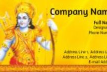 God visiting cards / India deities visiting cards for business cards required all, log in to www.printasia.in. Get 120 premium business cards 99/- only..