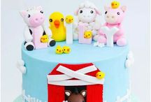 CAKES FOR LITTLE ONES / Cakes for baby's, gender reveal cakes.