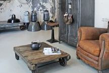 Upcycled Interiors - Industrial