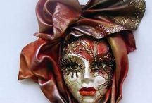 Venice and Mardi gras masquerade