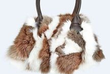 fur and leather bags