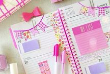 Planner Inspiration / Building up lots of ideas for when I finally get around to sorting out my Filofax planner!