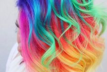 Awesome Hair / Beautiful, bright & bold hair colours & styles!