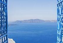 Escapade en Grèce - Collection Automne-Hiver 2016/2017 / Découvrez le thème Escapade en Grèce sur www.breal.net. Une envie de croisières, d'évasion, de bleus, de lumière et de rayures. Avant l'automne, passons par les Cyclades.