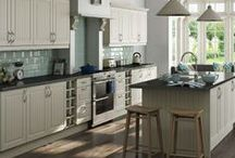 Classic Style Kitchens / Understated and stylish with a natural wood finish or painted cabinets, these Classic Kitchens offer a beautiful, timeless look for any home regardless of age.