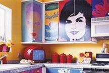 Kitchen pop art