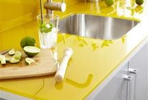 Bring in the Sunshine Yellow / If your kitchen doesn't get much natural light or could use some visual warmth, yellow is the perfect choice. Yellow kitchens are sunny, warm, and calming just find your perfect shade.