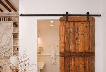 'Barn' doors