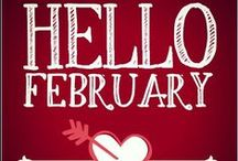 For Love of February & Coffee / Spring is right around the corner…. and February is just as fun.
