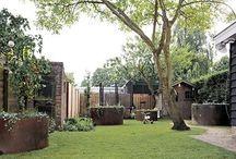 Tuinideeën /  Ideeën   voor de nieuwe tuin die we gaan bedenken