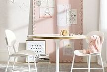 The Perfect Playroom for Her / Inspired design ideas for the perfect girl's play space.