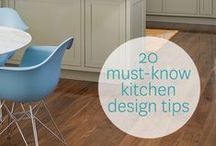 Kitchen Design Tips / Knowing how to design a kitchen can turn your dream kitchen into a reality. We've found some tips and knowhow to take a kitchen project from conception through realization.