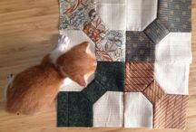 My homeworks for Akemi Shibata classes - Basic Level / Homeworks for hand sewing Patchwork and Quilting Classes by Akemi Shibata, Basic Level.