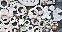 Gar - porcelain / porcelain , handmade