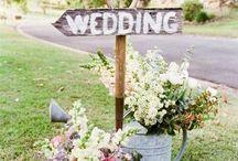 Wedding ideas / My wedding  in a garden