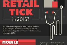 Retail Infographics / Illustrations of retail trends, data and ideas