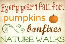 Fall for September / Start of a fresh season... back to school and everything fall