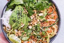 Gesunde Salate / Hier findet ihr alle meine gesunden, überwiegend rein pflanzlichen, vegetarischen Salate. Alle Rezepte sind ohne raffinierten Zucker, natürlich glutenfrei und voller Nährstoffe.