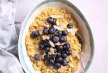 Gesunde Frühstücks-Rezepte / Hier findet ihr alle meine gesunden, überwiegend rein pflanzlichen, vegetarischen Frühstücksrezepte. Alle sind ohne raffinierten Zucker, natürlich glutenfrei und voller Nährstoffe.