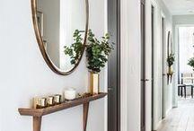 Hallway Ideas / Everything for my dream hallway.