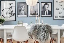 Dining Room Inspiration / This is where the magic happens - dinner <3