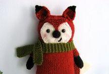 Knitting: toys