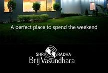 A SHRI Radha Brij Vasundhara | 5 Star Hotel in Mathura / Own a ready-to-move-in luxury cottages at SHRI Radha Brij Vasundhara with all contemporary lifestyle and wellness facilities.• 1/ 2 Bedrooms and duplex luxury cottages • Completely Pollution-free environment • Pravachan hall • 83 % Lush green area• Club house having indoor swimming pool, Steam & Sauna Bath, Jacuzzi, spa & Massage, Restaurant, Games & Auditorium.Visit:www.shrigroup.net