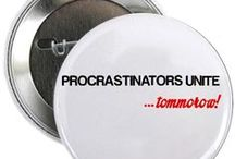 Procrastination Merchandise
