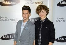 September 24th - George and JJ at the launch of Samsung Galaxy Gear and Galaxy Note 3