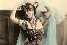 Antique - Dancers / Antique pictures of dancers and artists. / by Paola Maluje Boroday