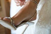 Wedding Shoes / Shoes worthy of a couture wedding gown.