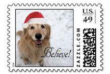 Christmas Postage Stamps / Christmas Postage Stamps