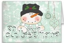 Christmas Cards / The happiest way to keep in touch during the Christmas holidays is by sending holiday cards from Santa Claus's featured designs, or by taking one of its cards and adding your own text and graphics, such as photos. In two sizes, 5 x 7 inches and 8.5 x 11 inches, these Santa Claus cards are professionally printed to make your season's greetings glow.