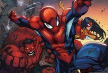 Comics Marvel Universe / El Universo de Marvel en los los comics / by Eduardo De La Torre