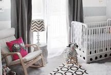Nursery Ideas / Baby's new room!  Design inspiration for your baby's nursery