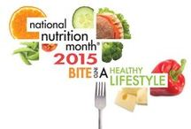 National Nutrition Month / National Nutrition Month is a nutrition education and information campaign that focuses attention on the importance of making informed food choices and developing sound eating and physical activity habits.