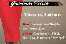Grammar Police / Write Step Resumes, LLC is cracking the code on common grammar mistakes.